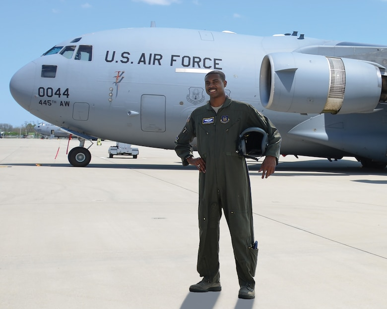 Maj. Andrew Pierce, flight commander and C-17 instructor pilot, 89th Airlift Squadron, will be inducted into the Ohio State University Athletics Hall of Fame on Sept. 6, 2019 in Columbus, Ohio, for his athletic accomplishments.