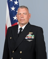 Commander Anthony Holmes, Commanding Officer, Surface Combat Systems Center, Wallops Island, Virginia