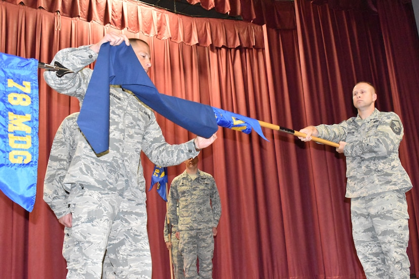 78th MDG squadrons reform to focus on readiness, efficiency