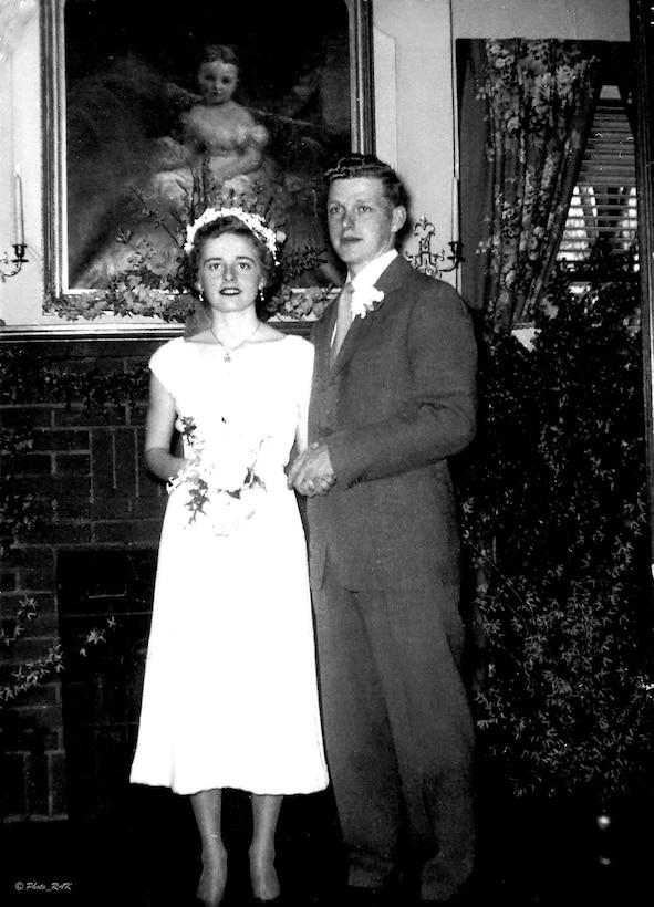 Mary Ann Kibbey and Col. Richard 'Dick' Kibbey pose for a photo circa 1953. (Photo courtesy of Richard Kibbey)