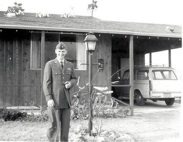Col. Richard 'Dick' Kibbey poses for a photo in the early 1960's. Dick was a pilot in Vietnam when his helicopter was shot down and he was listed as missing in action for over 50 years before his remains were returned to the United States after being found by a local farmer. (Photo courtesy of Richard Kibbey)