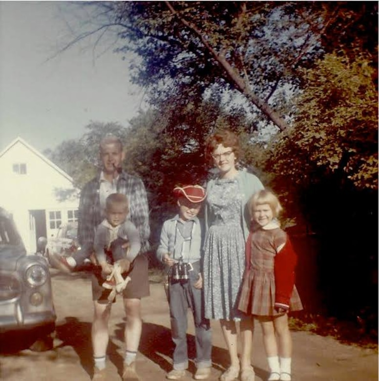 The Kibbey's pose for a family photo circa 1964. Col. Richard 'Dick' Kibbey was a pilot i nVietnam when his helicopter was shot down and he was listed as missing in action. His remains were found over 50 years later by a local farmer and he was brought home to the United States and buried in 2019. (Photo courtesy of Richard Kibbey)