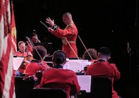 On March 3, 2019, the Marine Chamber Orchestra played a concert under the direction of Captain Bryan P. Sherlock at Northern Virginia Community College.