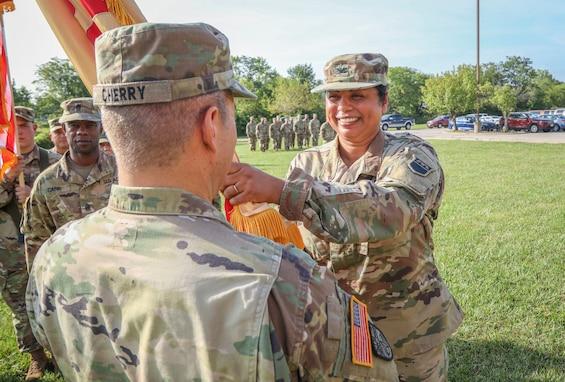 Missouri Reserve Unit Changes Commanders
