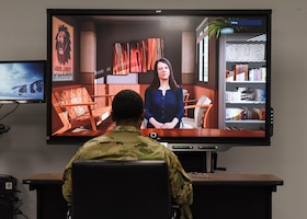 82nd TRS Faculty Development employs avatar-based counseling technology in BIC