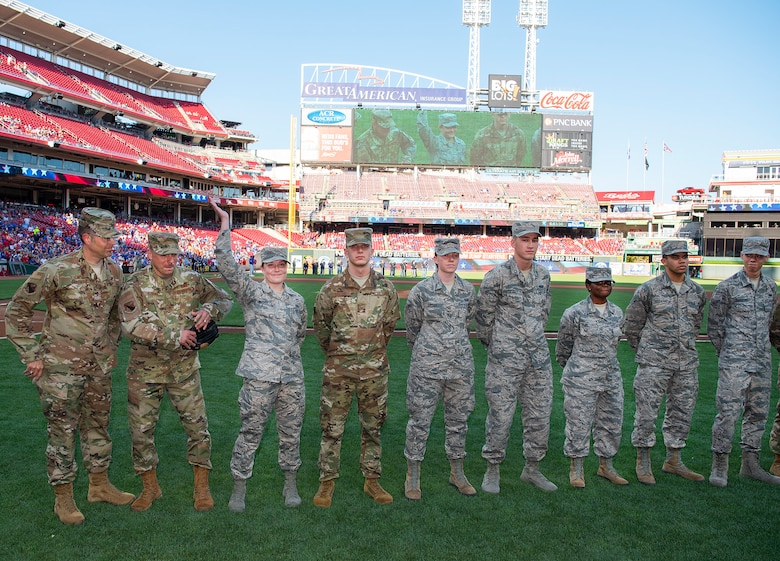 NASIC Airman chosen as Reds honorary captain > National Air