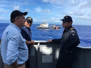 U.S. Coast Guard, Royal New Zealand Navy Conduct Professional Exchanges Amid Operations in Oceania