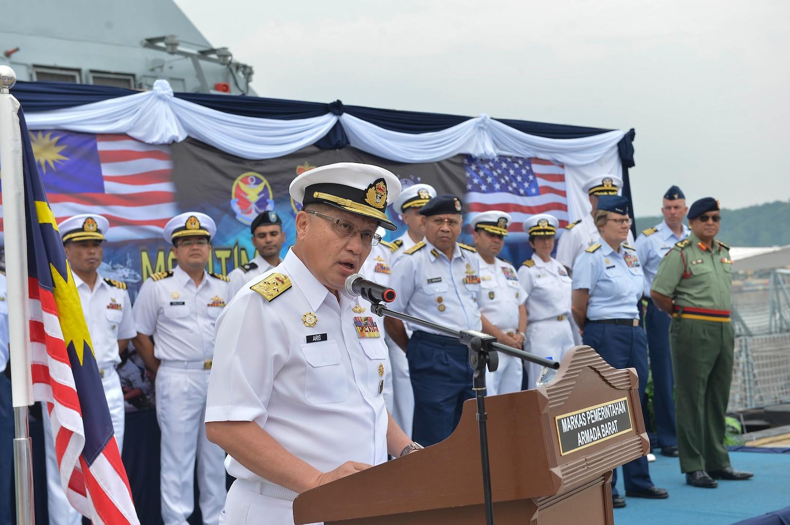 US, Malaysia Kick-Off Maritime Training Activity 2019