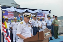 US, Malaysia Kick-Off Maritime Training Activity 2019