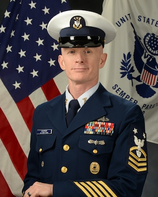 Photo of Command Master Chief Hooper