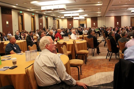 Naval Surface Warfare Center, Crane Division (NSWC Crane) hosted its fifth annual Microelectronics Integrity Meeting (MIM) at the JW Marriott in downtown Indianapolis Aug. 6-7. Five hundred professionals from across the country attended the event this year, including registrants from the Department of Defense (DoD), DoD contractors, academia, and industry.