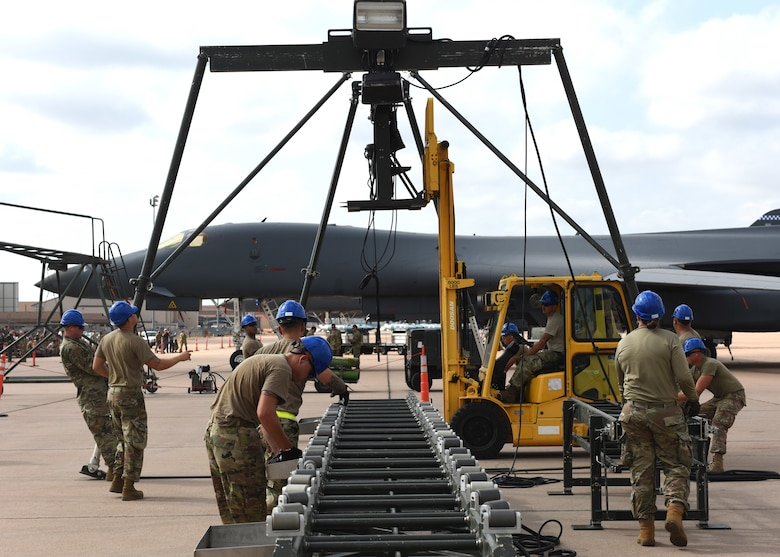 Team Dyess competes in Global Strike Challenge
