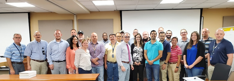 Photo of TYAD employees who recently graduated from the PM training Program
