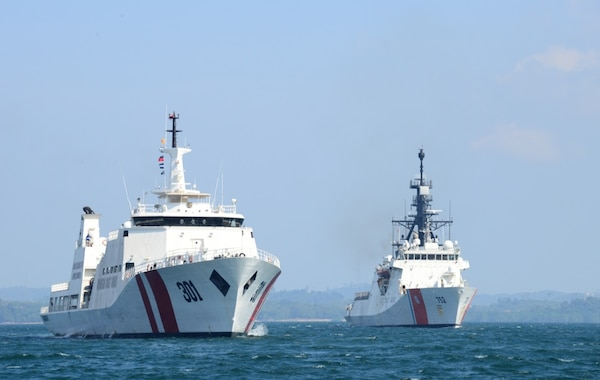 Coast Guard Cutter Stratton Arrives in Malaysia following Training and Engagements in Indonesia