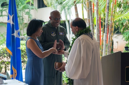 Pacific Air Forces Honors 75th Anniversary during Ceremony