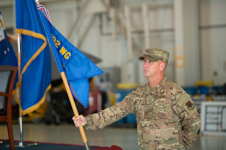 192nd Wing change of command ceremony photos