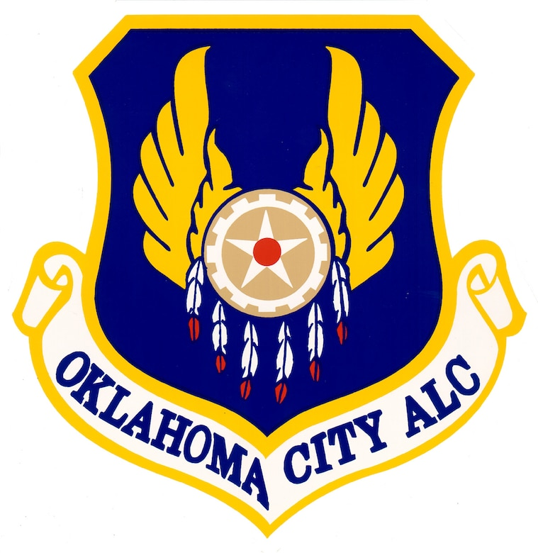 Oklahoma City Air Logistics Complex shield graphic