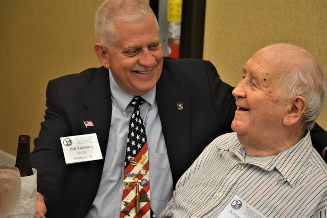 World War II veterans, their families, and current members of the 94th Training Division-Force Sustainment came together to celebrate the 70th anniversary of the 94th Infantry Division Historical Society at their annual reunion held in Columbus, Georgia, June 14-15, 2019.