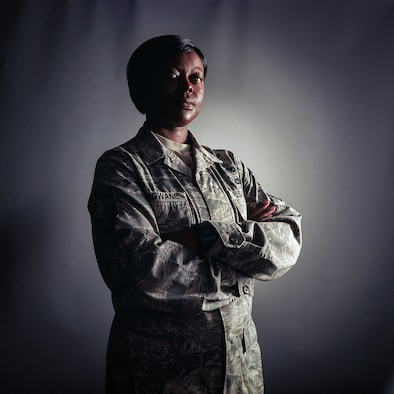 Senior Master Sgt. Sylvetris Hlongwane, a paralegal assigned to the 11th Air Force at Joint Base Elmendorf-Richardson, Alaska, was recently recognized as one of the U.S. Air Force's 12 Outstanding Airmen of the Year. Hlongwane served as a weapons loader before reclassing to the legal field 12 years ago.