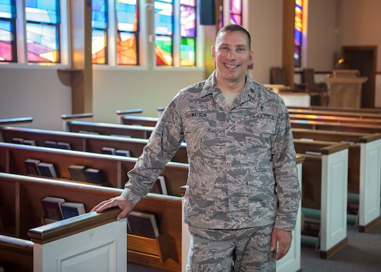 Installation chaplain eager to grow community
