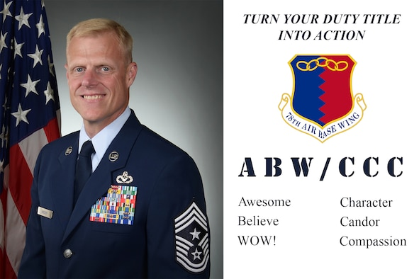 Turn your duty title into action: ABW/CCC