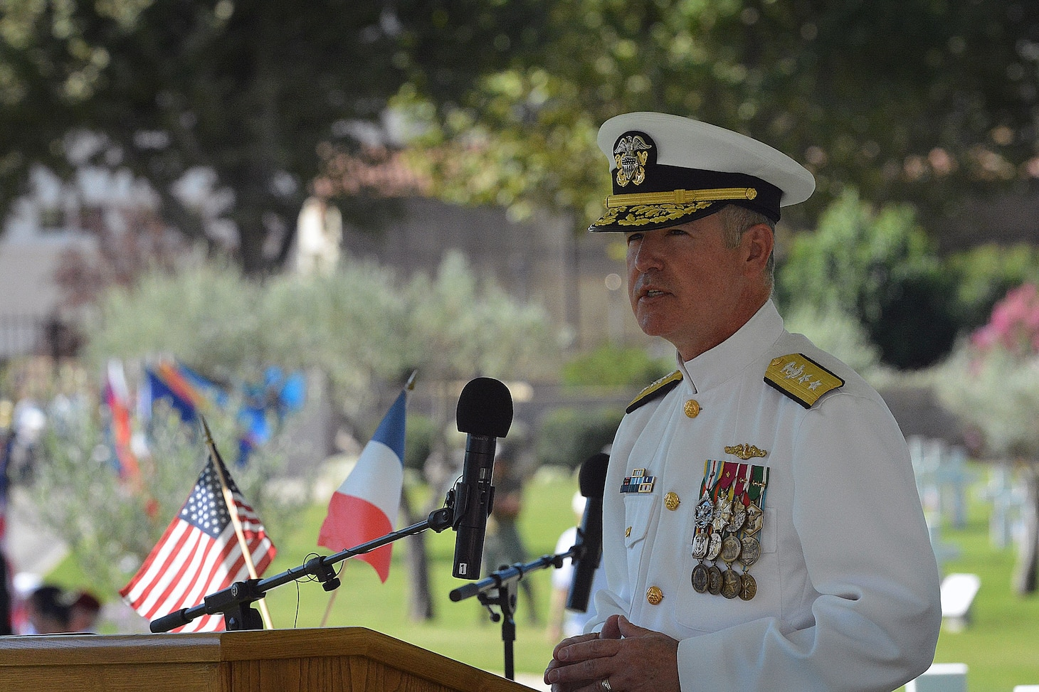 U.S. Naval Forces Europe-Africa Chief of Staff Commemorates the