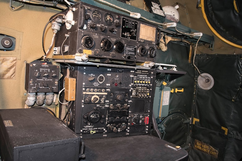 DAYTON, Ohio - Convair B-36J Peacemaker Radio Operator's Station at the National Museum of the U.S. Air Force. (U.S. Air Force photo by Ken LaRock)