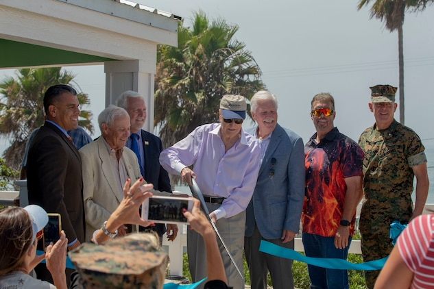 Camp Pendleton opens new beach cottages with dedication ceremony
