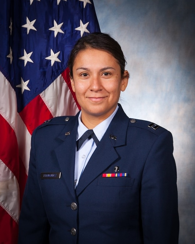 Capt. Lisa Fernandez, Air Force Research Laboratory medical entomologist, is selected to receive the 2019 STEM Military and Civilian Hero Award at the 31st Annual Great Minds in STEM Conference in September 2019, at Disney's Coronado Springs Resort in Lake Buena Vista, Florida.