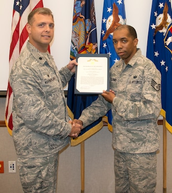 Williams Awarded Commendation and Achievement Medals