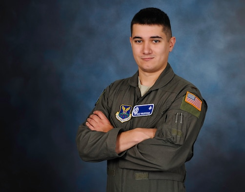 2nd Lt. Nazariy Melnychuk, 10th Missile Squadron Intercontinental Ballistic Missile combat crew member, poses for a portrait August 13, 2019, at Malmstrom Air Force Base Mont. Melnychuk is part of the Air Force's Language Enabled Airman Program.