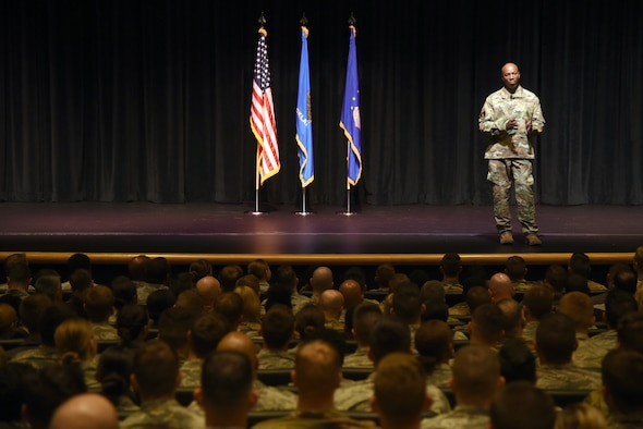 CMSAF addresses Tinker AFB