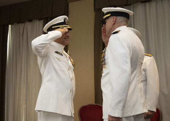 Mid-Atlantic Regional Maintenance Center Holds Change of Command