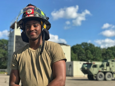 Army Reserve Firefighter and Medical Soldiers participate in CSTX-19-04