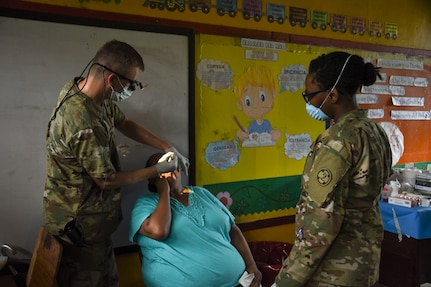 Joining forces maintain operability, provide medical care