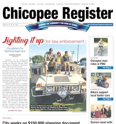 Westover Airmen participate in National Night Out in Chicopee