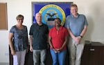 U.S. Army 1st Theater Sustainment Command representatives visit DLA Distribution Bahrain
