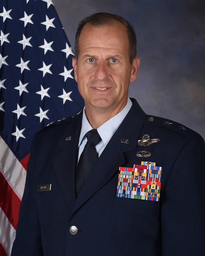 Major General Corey J. Martin, Director of Operations, Strategic Deterrence and Nuclear Integration, Headquarters Air Mobility Command, Scott Air Force Base, Illinois.