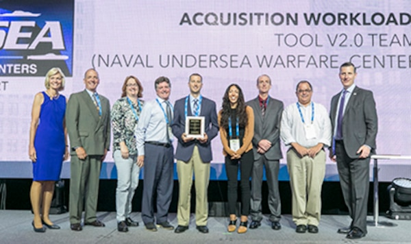 NUWC Division Newport team wins Innovation in Contracting Award from National Contracts Management Association