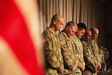 The 300th Military Intelligence Brigade Change of Command Ceremony,  August 10, 2019 at the Draper Utah National Guard Headquarters Building (U.S. Army Photo By Sgt. Nathan J. Baker)
