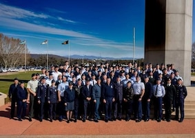 Reserve component officers attend international leadership course