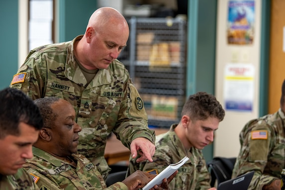 Soldier's skills, abilities stand out among peers