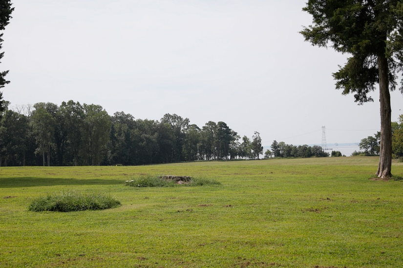 "This photograph is from the field next to the main house at Carters Grove Plantation at  37°12'26.95""N;  76°37'33.16""W. A 70mm focal length was used, as this best matched up what the human eye was seeing and what was being viewed through the viewfinder of a full frame camera."