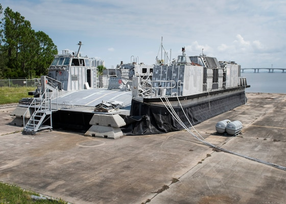 After nearly 25 years of mission tests, Landing Craft, Air Cushion (LCAC) 66 will be disassembled and demolished signifying its removal from fleet service.