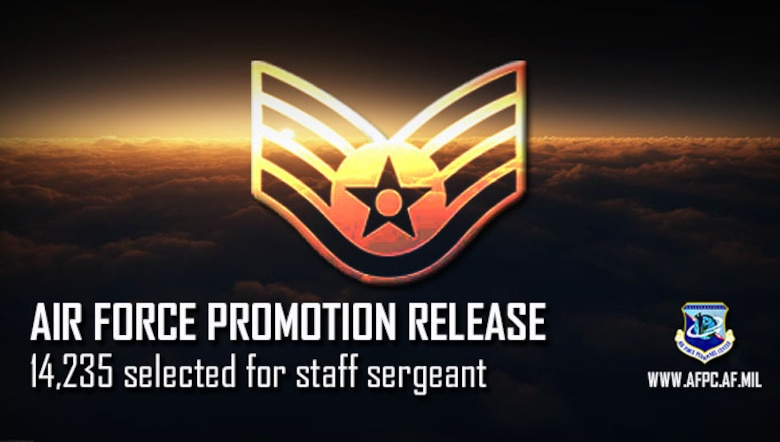 Air Force releases 19E5staff sergeant promotion cycle