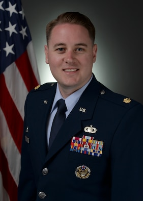 Biography photo of Maj. Matthew Fleharty, 50th Contracting Squadron commander