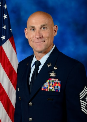 31st Fighter Wing Command Chief Master Sergeant Jamie L. Newman