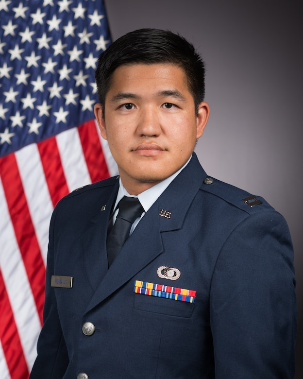 Capt. Dharyl Monsalud, deputy chief of the AFRL Aerospace Systems Directorate Combustion Devices Branch, received the Technical/Research/Business Achievement award from the Society of Asian Scientists and Engineers for his work in space technologies. (U.S. Air Force photo)