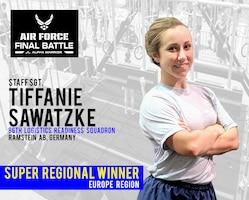 Staff Sgt. Tiffanie Sawatzke