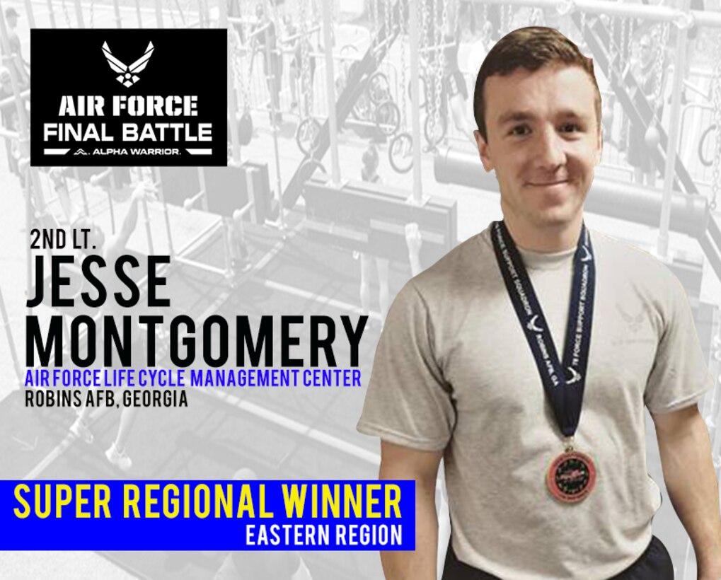 2nd Lt. Jesse Montgomery